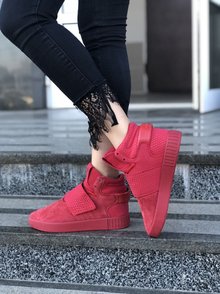 buy online 0d720 3a646 Adidas Tubular Invader Red