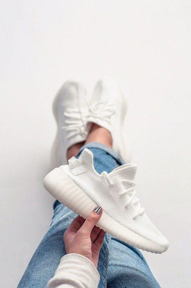 best sneakers 542f9 3f81b Adidas Yeezy 350 Full White ( Реплика ААА+ )