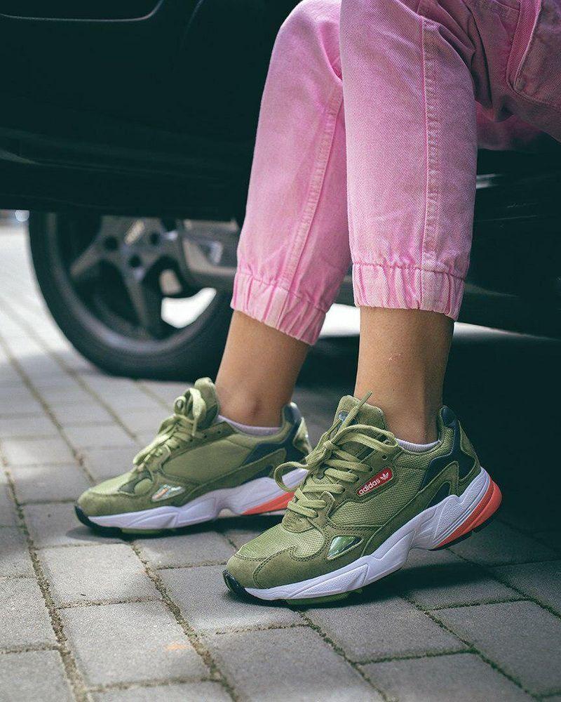 Adidas Falcon Army Green ( Реплика ААА+