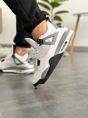 Кроссовки NK AR Jordan 4 White Cement ( Реплика ААА+ ), 41