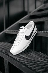 Кроссовки NK Cortez White Black (Реплика ААА+), 41