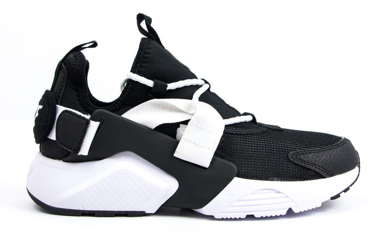 Кроссовки NK Huarache Drift Black White ( Реплика ААА+ ), 36