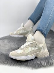 Adidas Yung 1 total cream white ( Реплика ААА+ ), 36