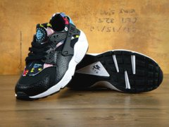 Кроссовки NK Huarache Black Flower ( Реплика ААА+ ), 36