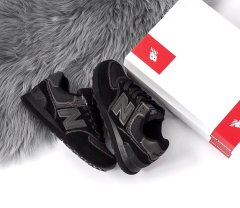 New Balance 574 Triple Black ( Реплика ААА+ ), 37