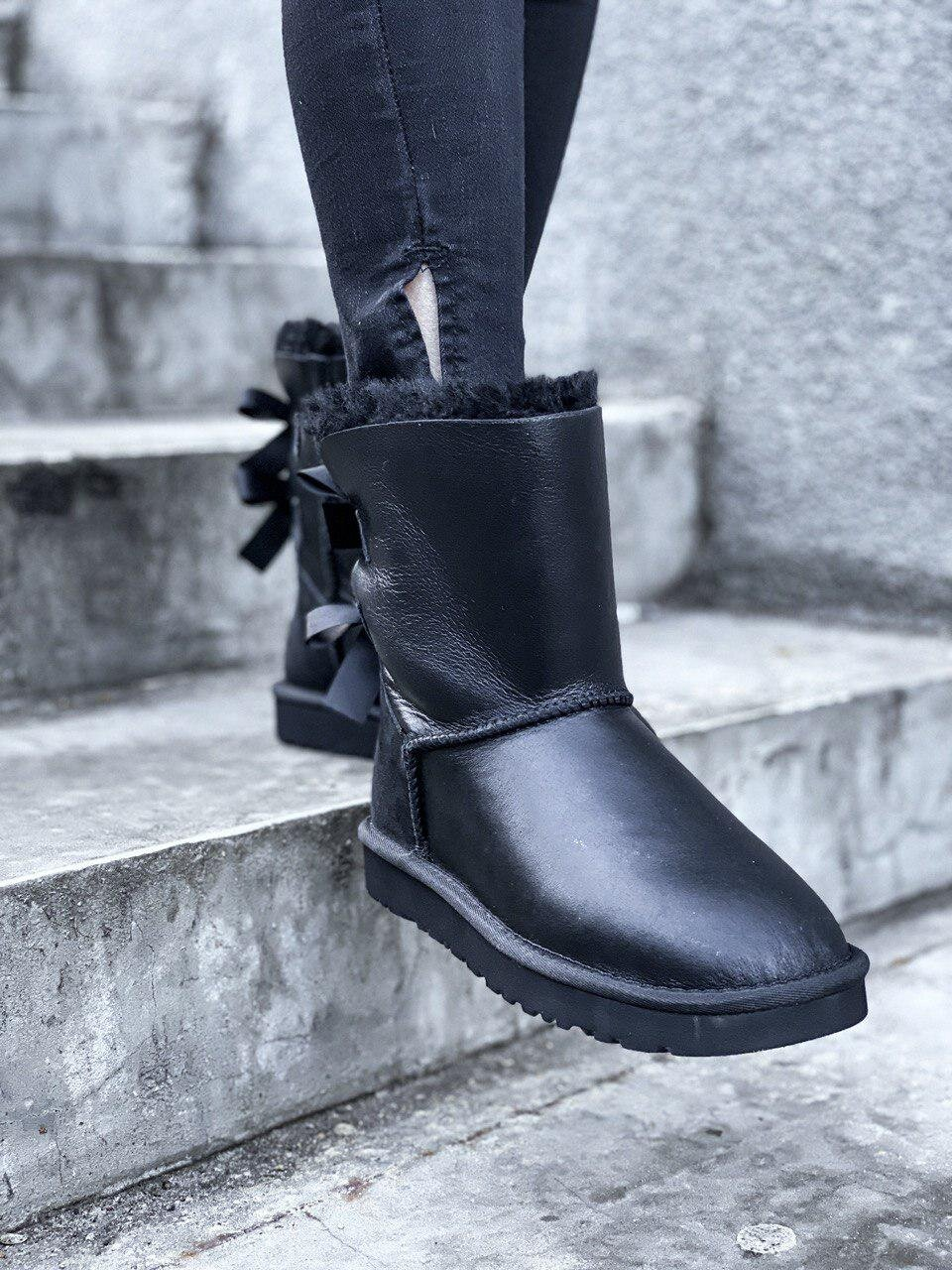 UGG Bailey Button Hight Black 2 ( Реплика ААА+ ), 36