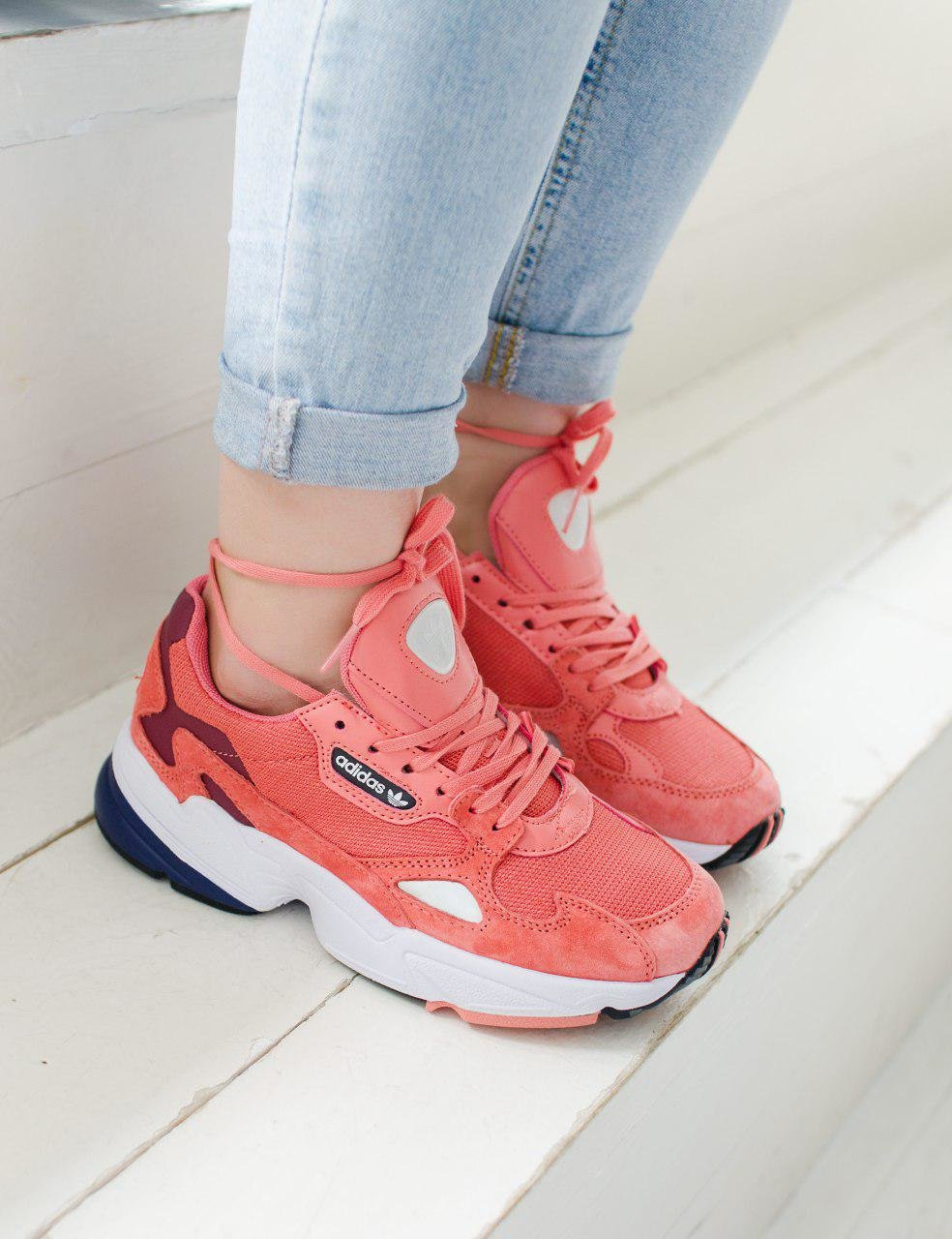 Adidas Falcon Light Red ( Реплика ААА+ ), 36