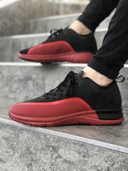 Кроссовки NK AR Jordan Black Red 2 ( Реплика ААА+ ), 41