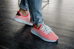 Adidas Deerupt Pink and Blue ( ААА реплика ), 36