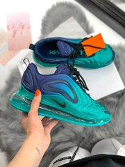 Кроссовки NK Air Max 720 Turquoise Sea ( Реплика ААА+ ), 36