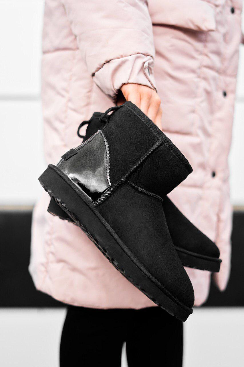 UGG Mini Black Metallic ( Реплика ААА+ ), 36