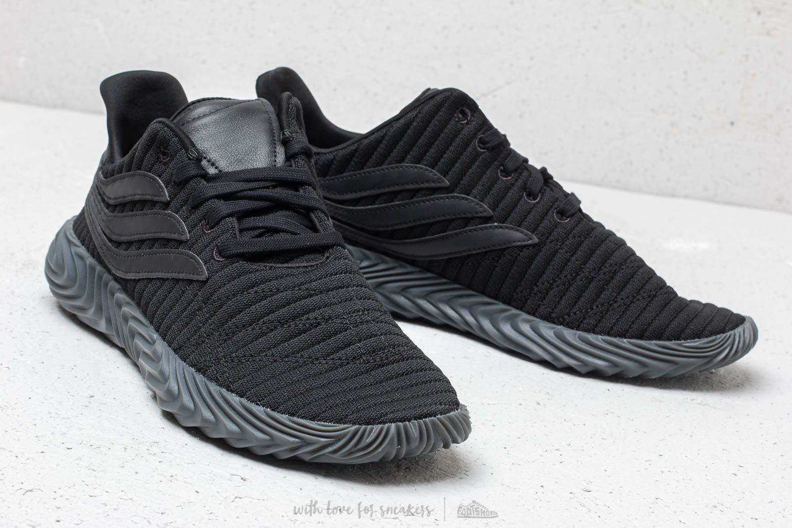 Adidas Sobakov Full Black ( Реплика ААА+ ), 40