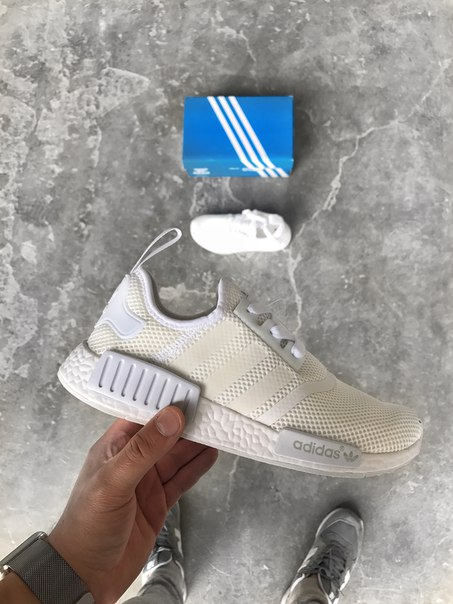 Adidas NMD R1 Reflective White 3M, 36
