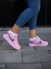 Кроссовки NK Force Just Do It Pink (Реплика ААА+), 36