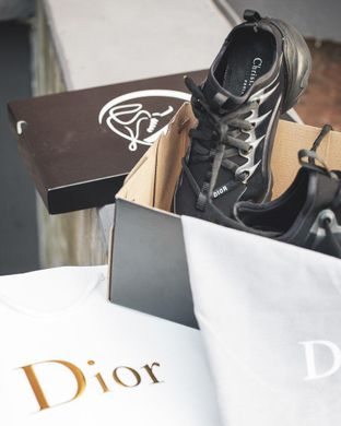 Dior D-Connect Black ( Реплика ААА+ ), 36