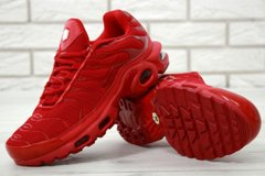 Кроссовки NK Air Max Tn Full Red ( Реплика ААА+ ), 43