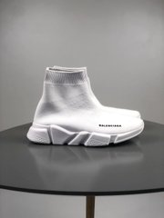 Balenciaga white sock, 36