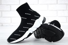 Balenciaga Speed Trainer White Black 2018, 36