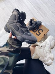 Adidas Yeezy 500 Hight Black ( Реплика ААА+ ), 36