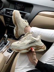 Balenciaga Triple S Transparent Crystal ( Реплика ААА+ ), 36
