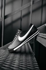 Кроссовки NK Cortez Black White (Реплика ААА+), 41