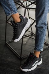 FILA Disruptor II Black White K, 36