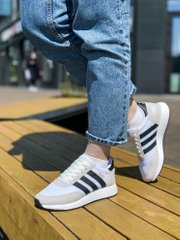 Adidas Iniki Runner White Grey (Реплика ААА+), 36