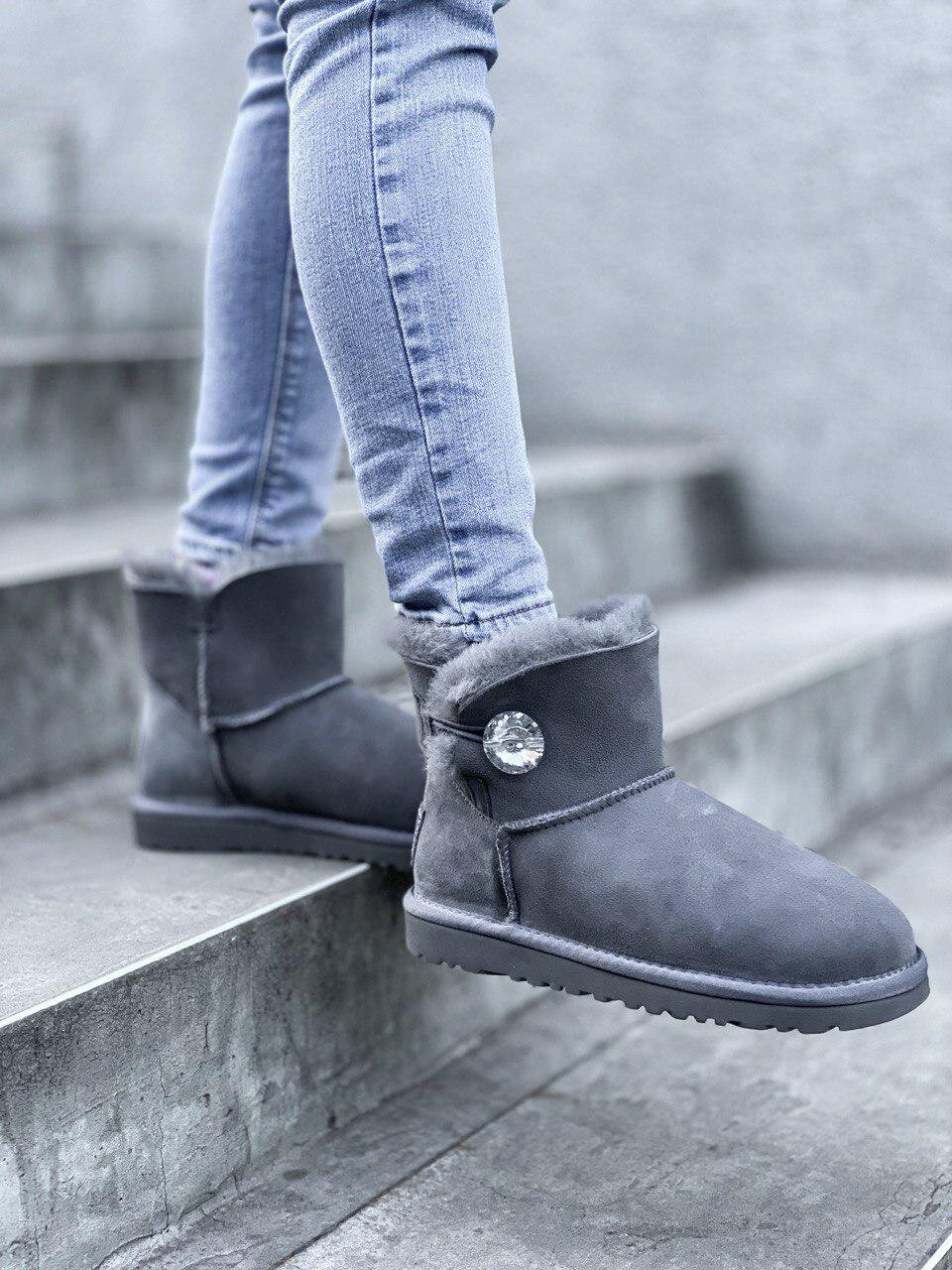 UGG Mini Grey Diamond ( Реплика ААА+ ), 36