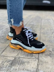 Balenciaga Triple S Black Orange ( Реплика ААА+ ), 36